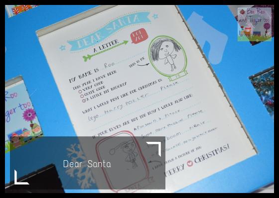 HP Christmas Advent Challenge - Dear Santa