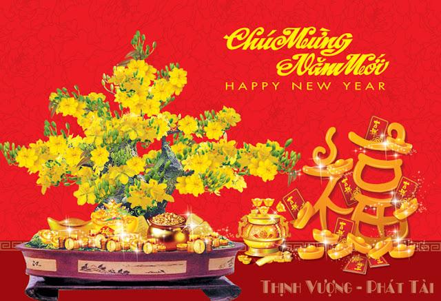 Thiệp chúc mừng năm mới đẹp và độc đáo