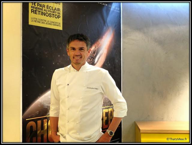 Christophe adam chez patissier fauchon crillon salon thé patisserie eclairs aux chocolats gastronomie