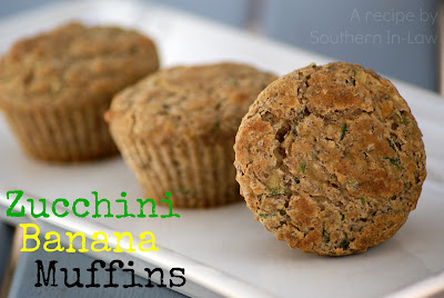 Zucchini Banana Muffin Recipe