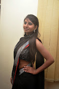 Model Shehnaaz Glam pics in saree-thumbnail-14