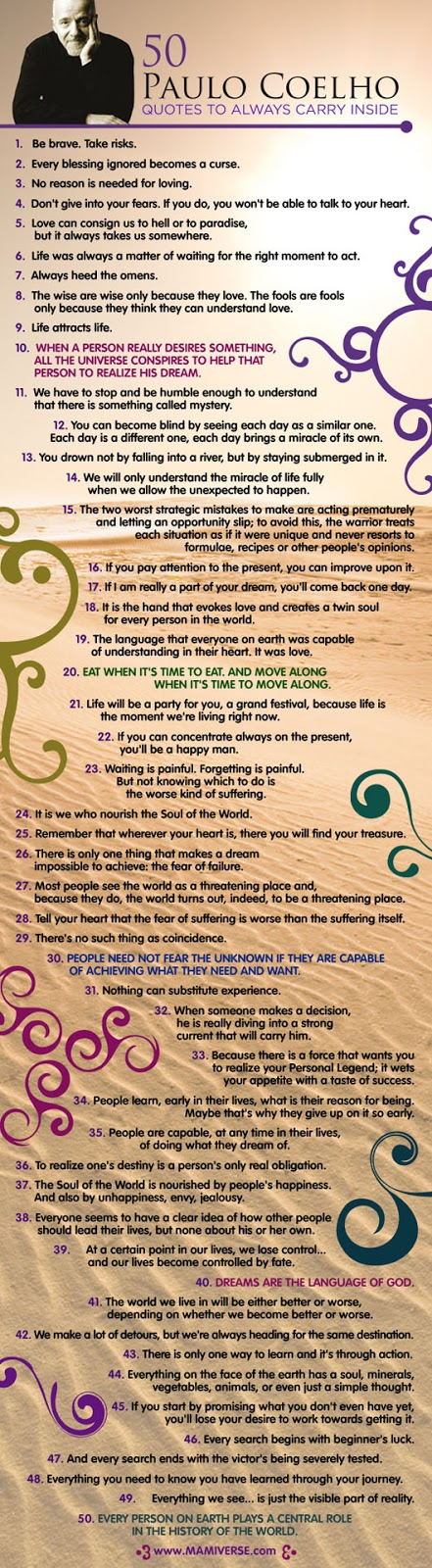 50 Paulo Coelho Inspirational And Motivational Quotes - BOOKS