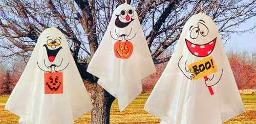 fantasmas para decorar en halloween