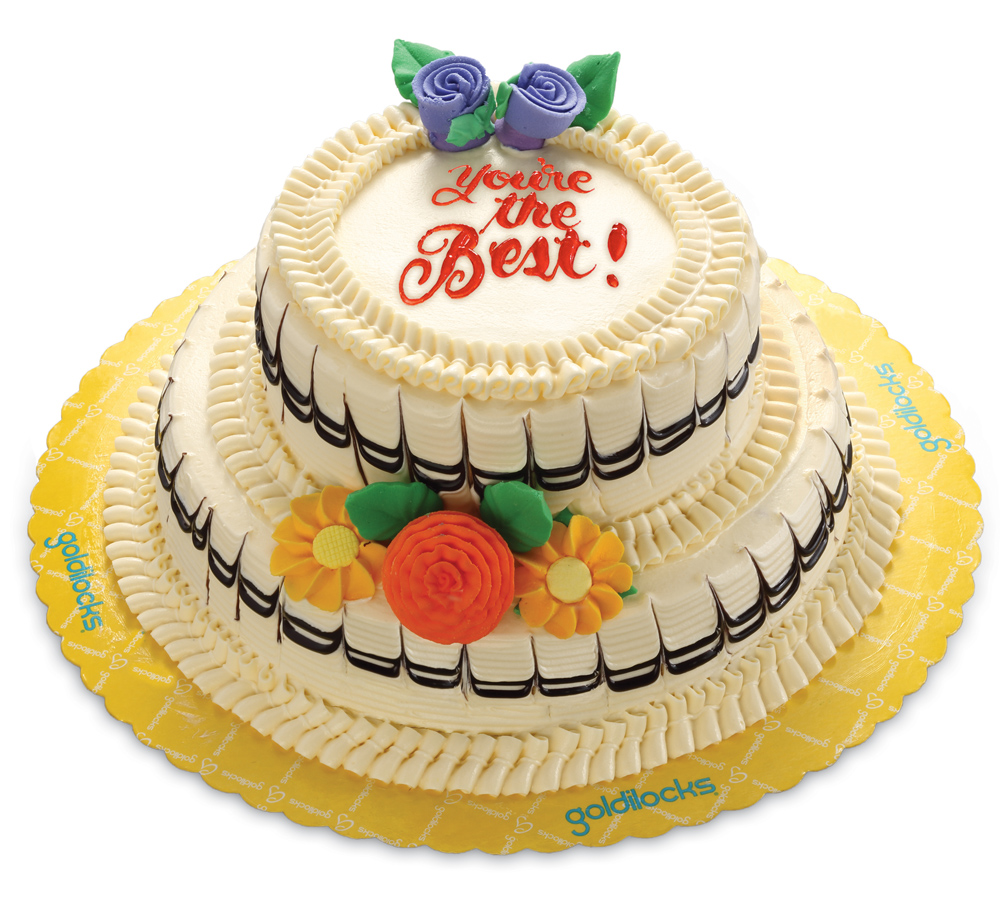 Goldilocks presents the New Duo Marble Layer Cake ac42bc12634e