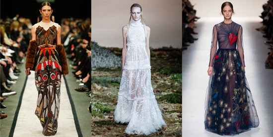 Givenchy, Alexander McQueen and Valentino