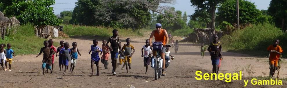 Senegal en bicicleta. Y Gambia.