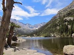 Mills Lake in RMNP