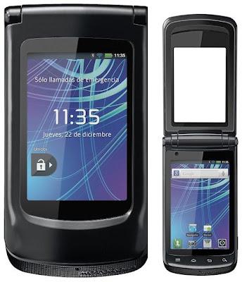 Características técnicas Motorola Motosmart Flip XT611