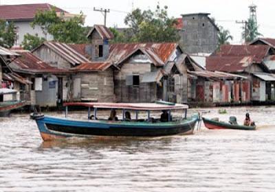 PPR Meriahkan Harjad Kotabaru Ke 62 Dengan Lomba Balap Perahu