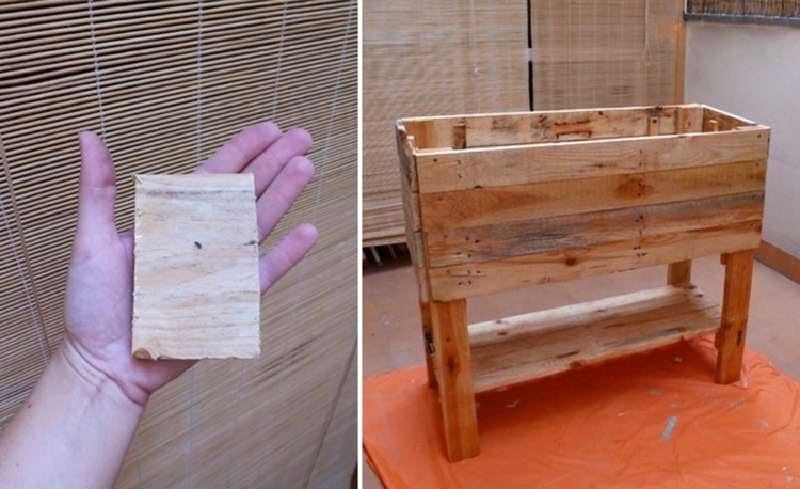 si os fijis en la imagen superior del post una vez construido el mueble han diseado una serigrafa especial para estampar en una tabla de madera