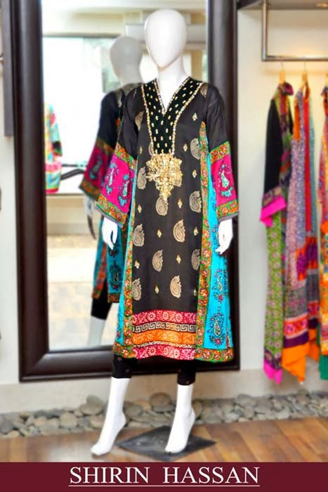Shirin Hassan formal dresses 2014