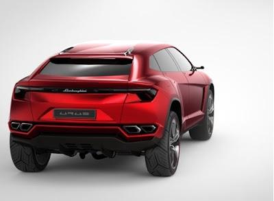 Lamborghini SUV - Urus 5