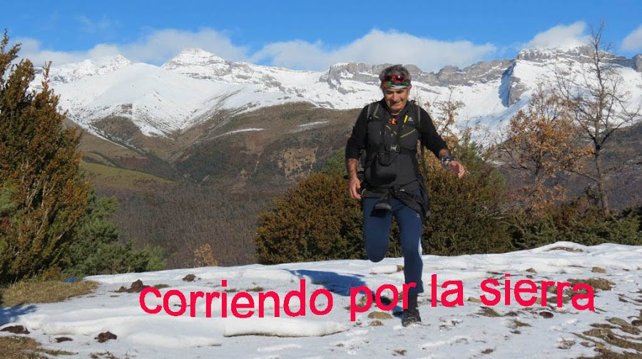 CORRIENDO POR LA SIERRA