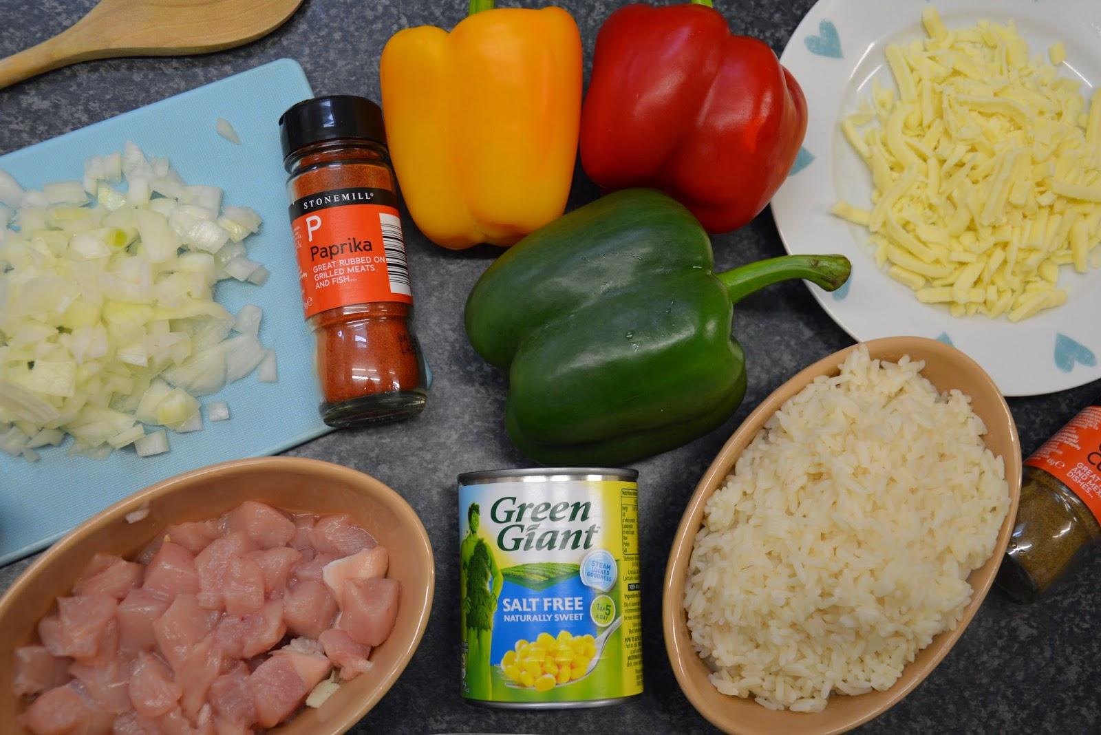 peppers, recipe, ingreidients