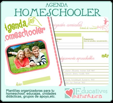 Agenda de organización homeschooler