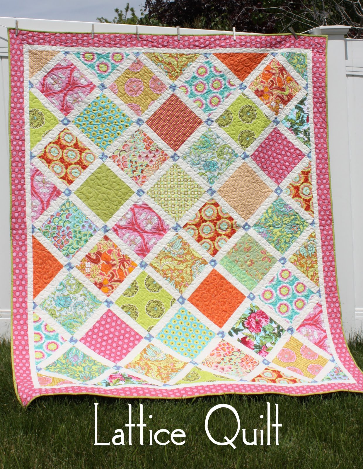Layer Cake Quilt Patterns Easy : LAYER CAKE QUILT PATTERNS - FREE PATTERNS