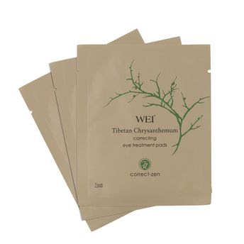 Wei Tibetan Chrysanthemum Correcting Eye Treatment Pads, WEI, WEI skincare, WEI skin care, WEI mask, WEI sheet mask, sheet mask, mask, skin, skincare, skin care, Space NK