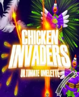 Chicken Invaders 4 Cover, Poster