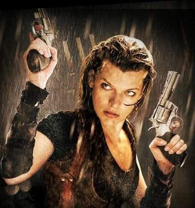 The List of Ten: Ten B... Milla Jovovich Resident Evil