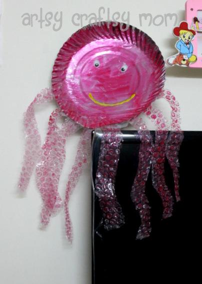 Octopus+BubbleWrap+Craft