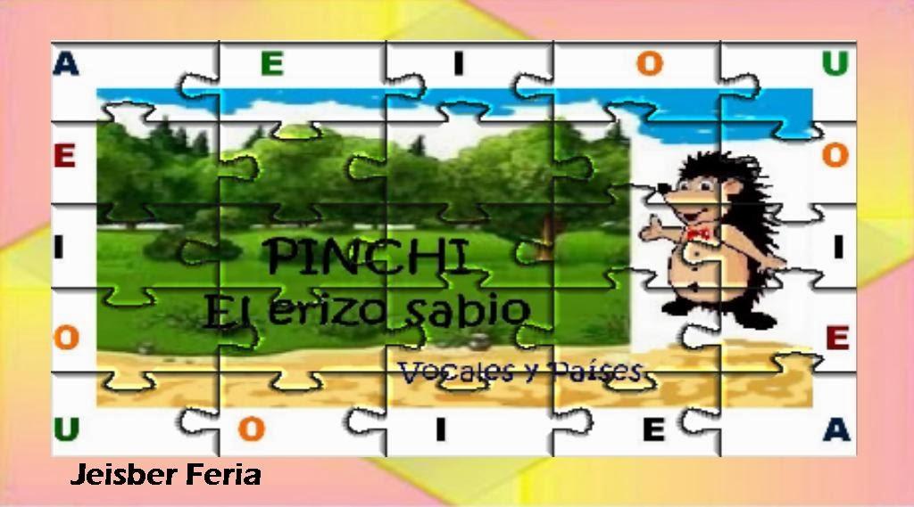 PINCHI El ERIZO SABIO. autor Jeisber Feria