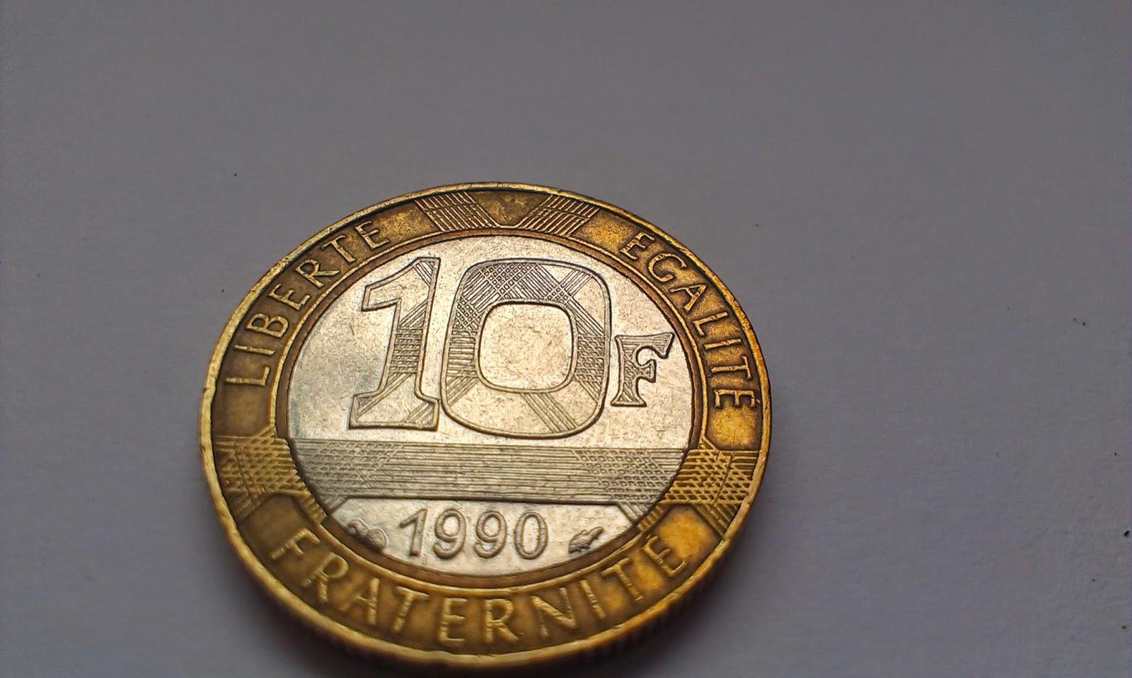 10 F Liberte Egalite Fraternite RF foto 1