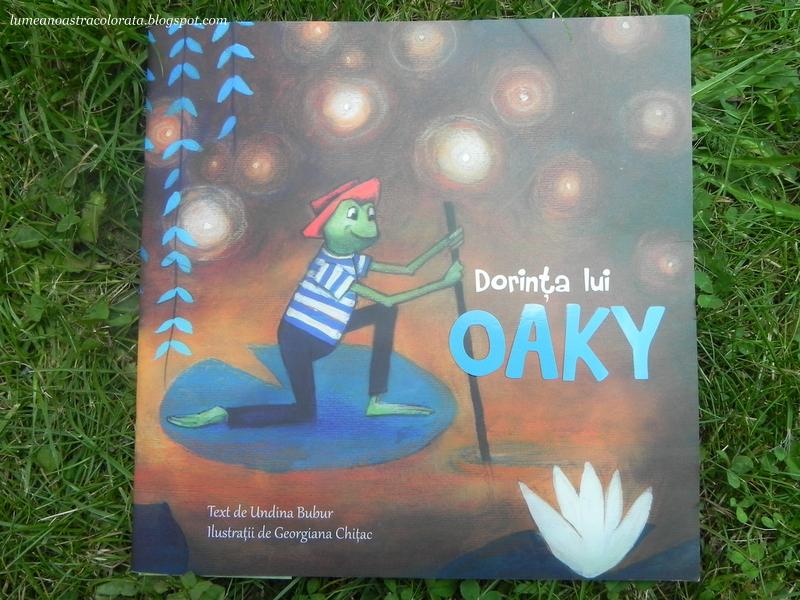 Cartea Dorinţa lui Oaky, apărută la editura All