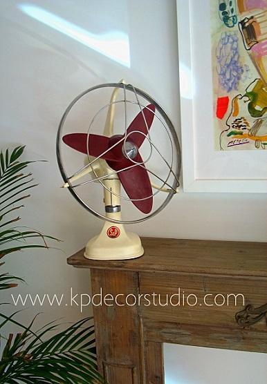 Comprar ventiladores de mesa antiguos, originales, baratos y bonitos