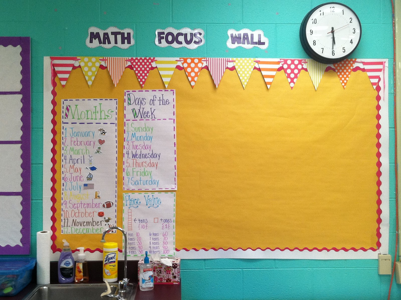 Life in First Grade: Teacher Week: My Classroom