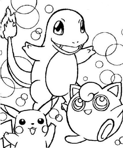 Dibujos y Plantillas para imprimir: Dibujos de Pokemon