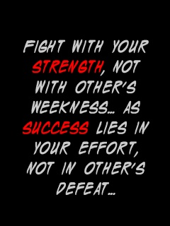 strength and success LOL Quote and saying