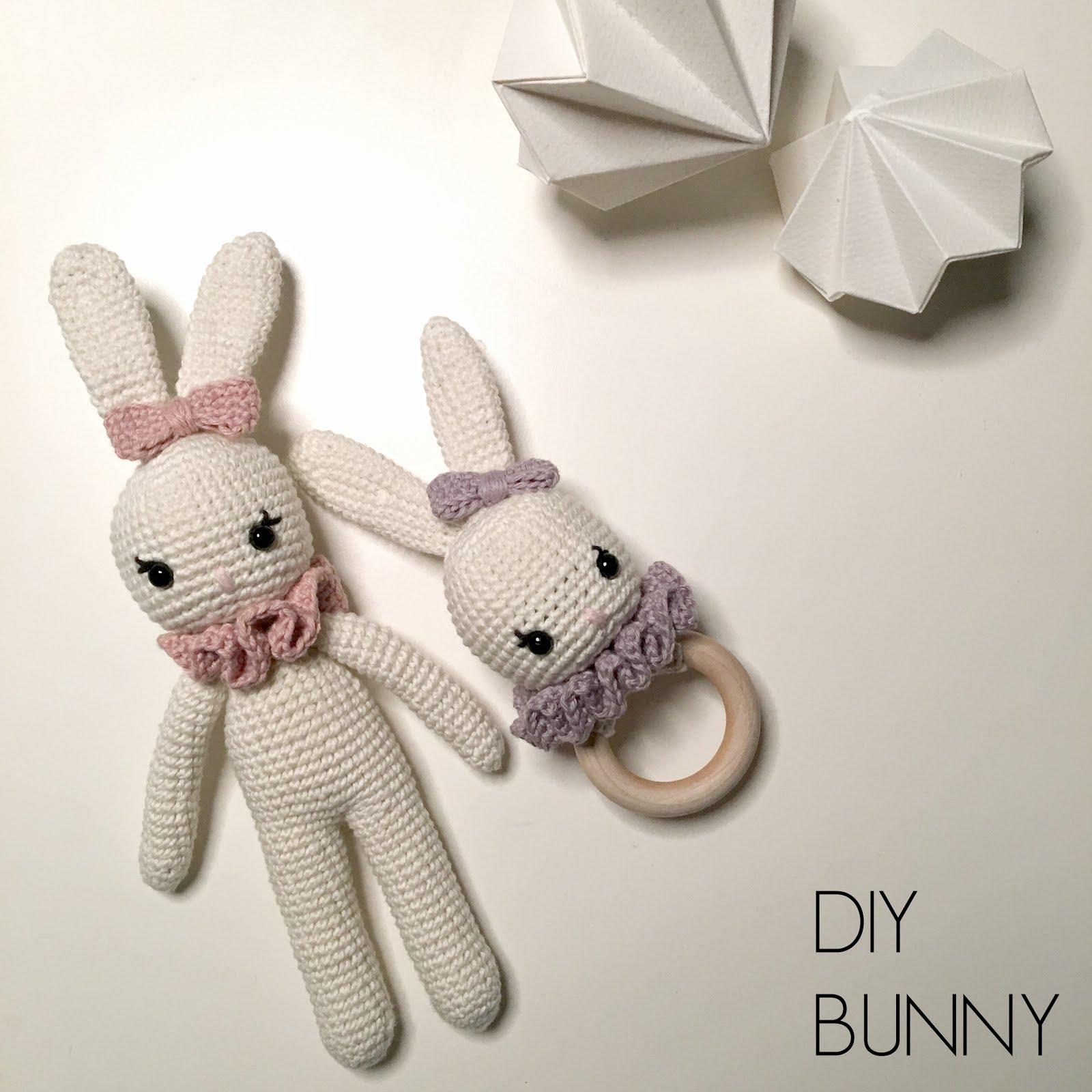 DIY Bunny & rattle