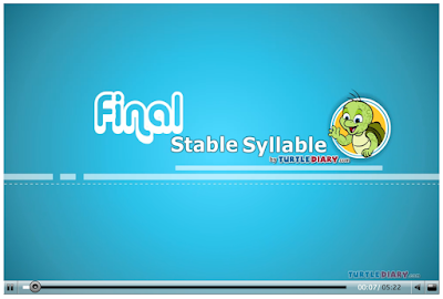 http://www.turtlediary.com/kids-videos/final-stable-syllable.html