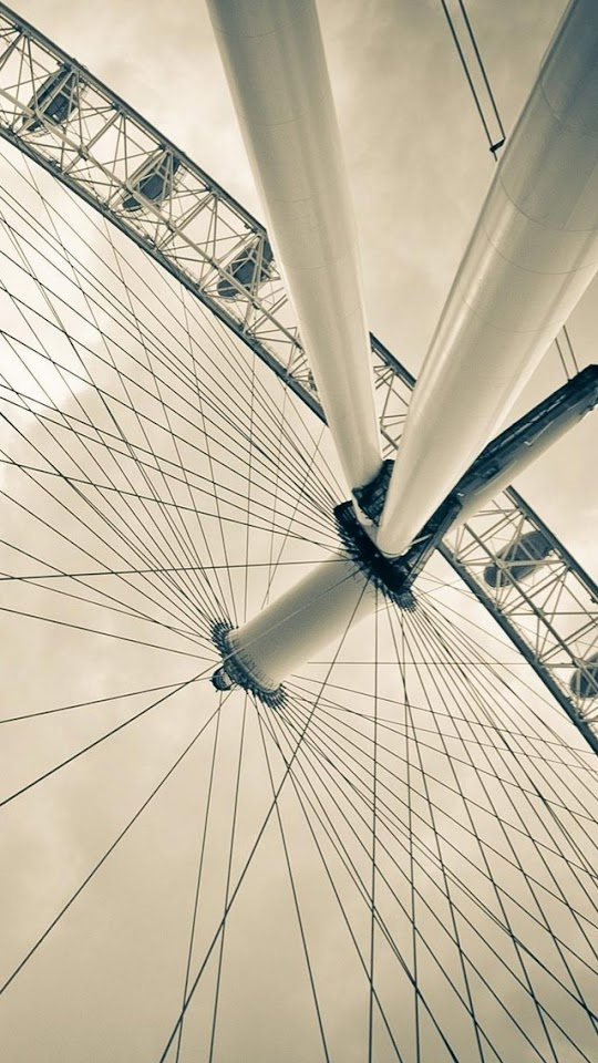 Under Ferris Wheel   Galaxy Note HD Wallpaper