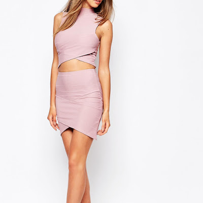 Missguided Bandage Asymmetric Top