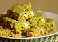 Torta Verde de Ervas, Palmito e Milho (vegana)