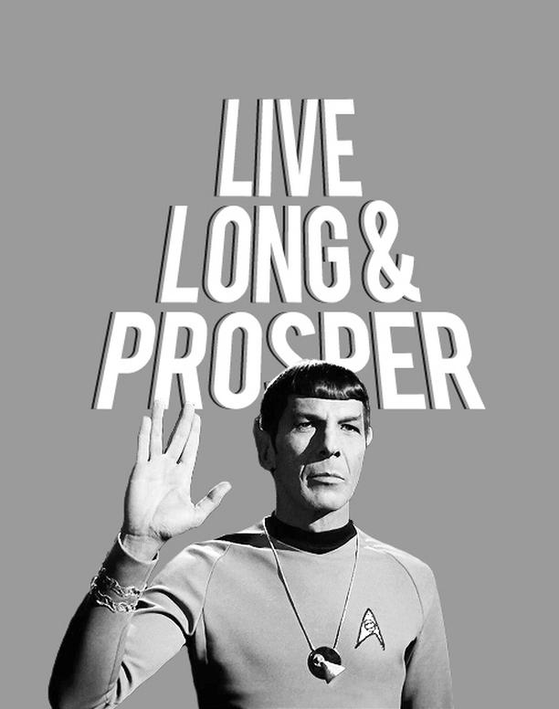 Leonard Nimoy, RIPLeonardNimoy, star trek, spock, LLAP, lunga vita e prosperità, 2015, live long and prosper, epitaffio