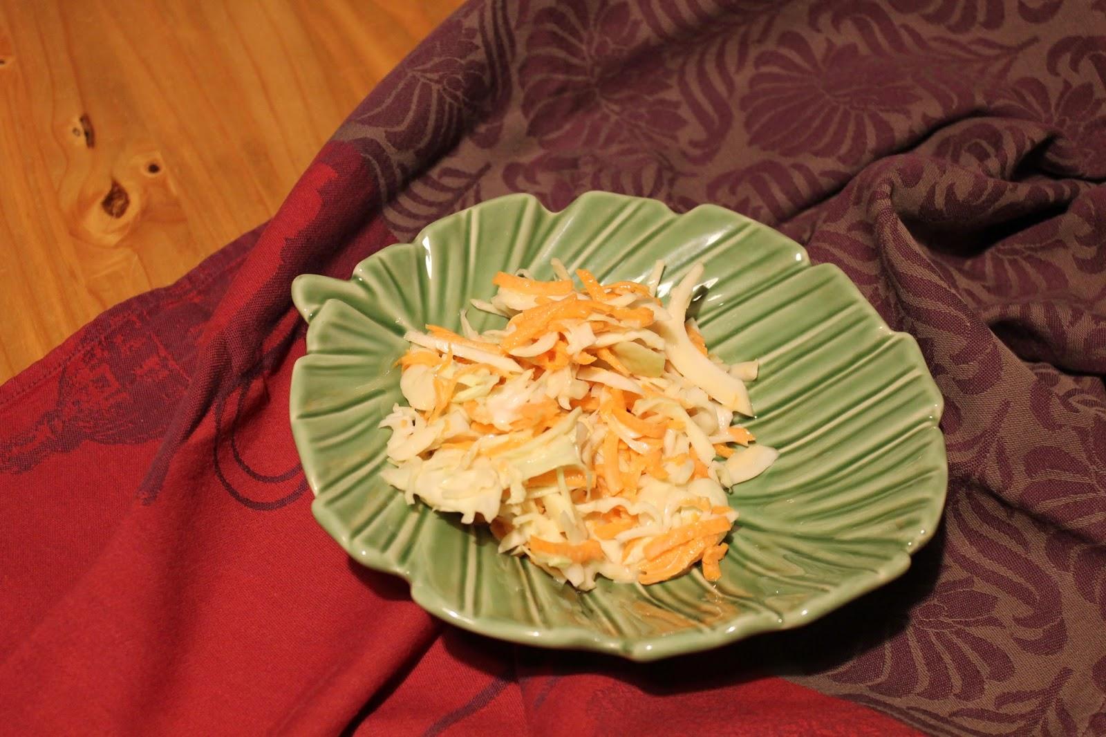 Petits cahiers en cuisine coleslaw maison - Faire un roux en cuisine ...