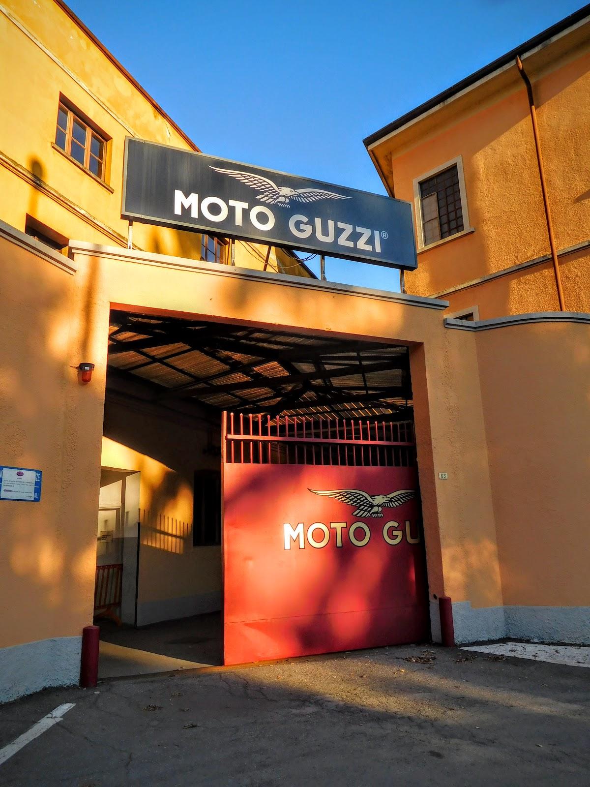 Tigh Loughhead: NYDucati visits the Museo Moto Guzzi in Mandello Del Lario, Italy