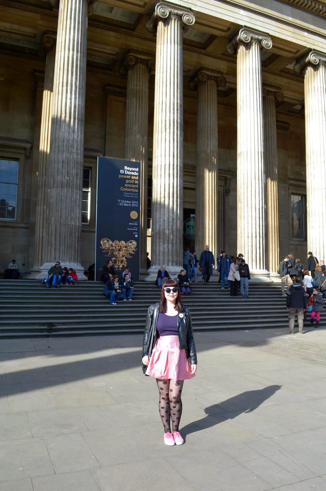 British Museum London Spring