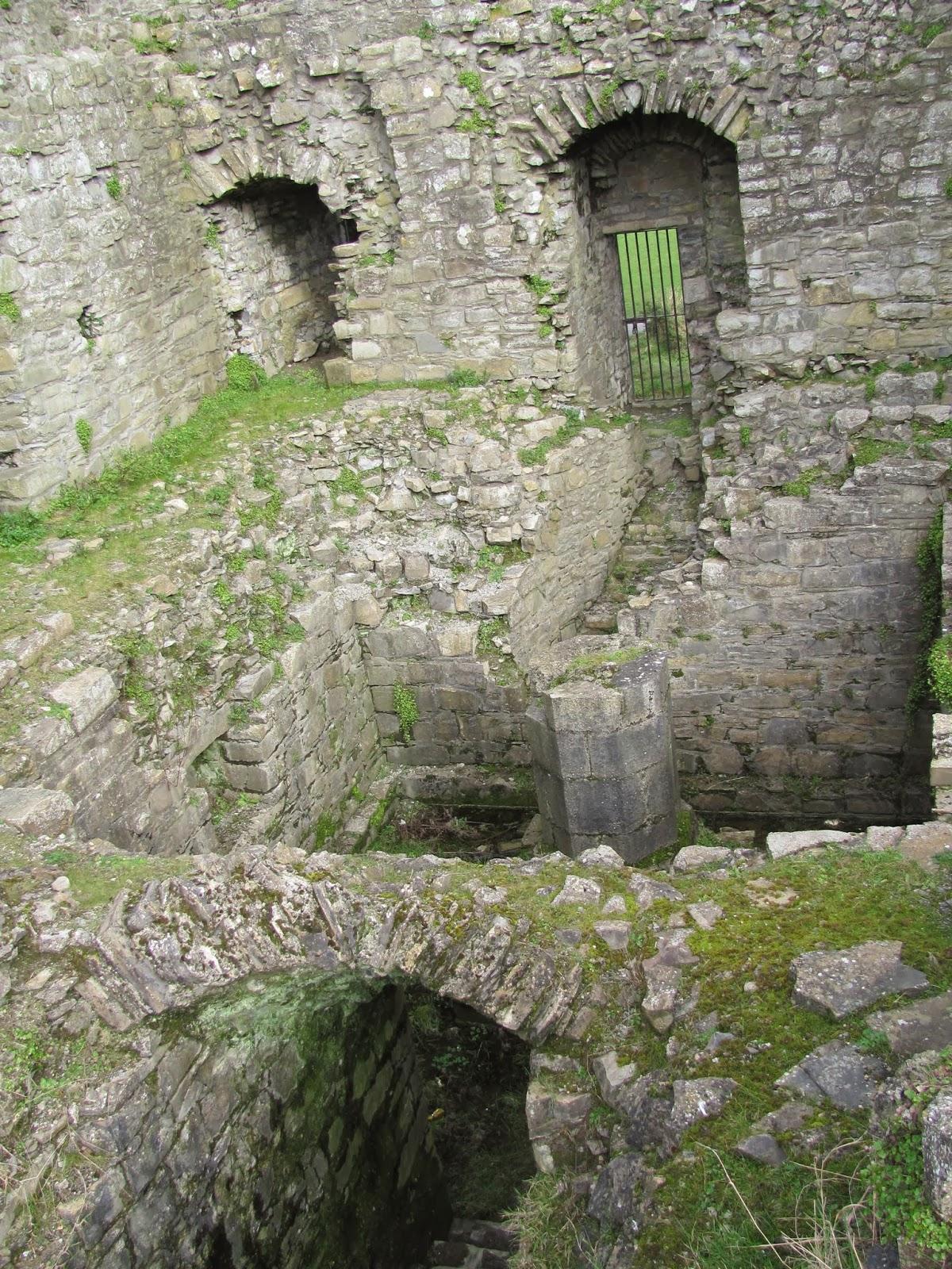 Below the Great Hall of Trim Castle in Trim, Ireland