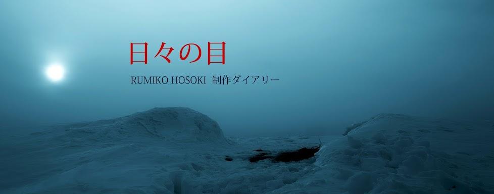 日々の目 RUMIKO HOSOKI 制作ダイアリー