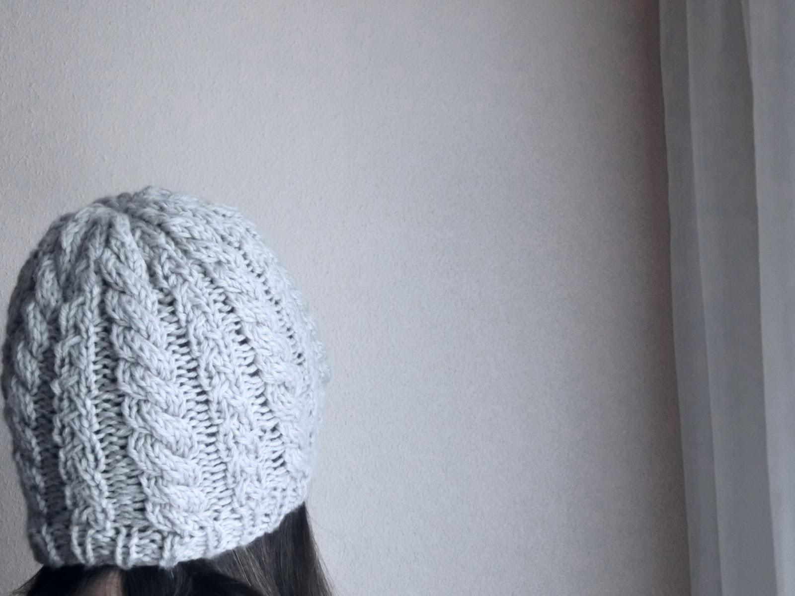 maia_knit: Conjunto invierno: Gorro trenzado