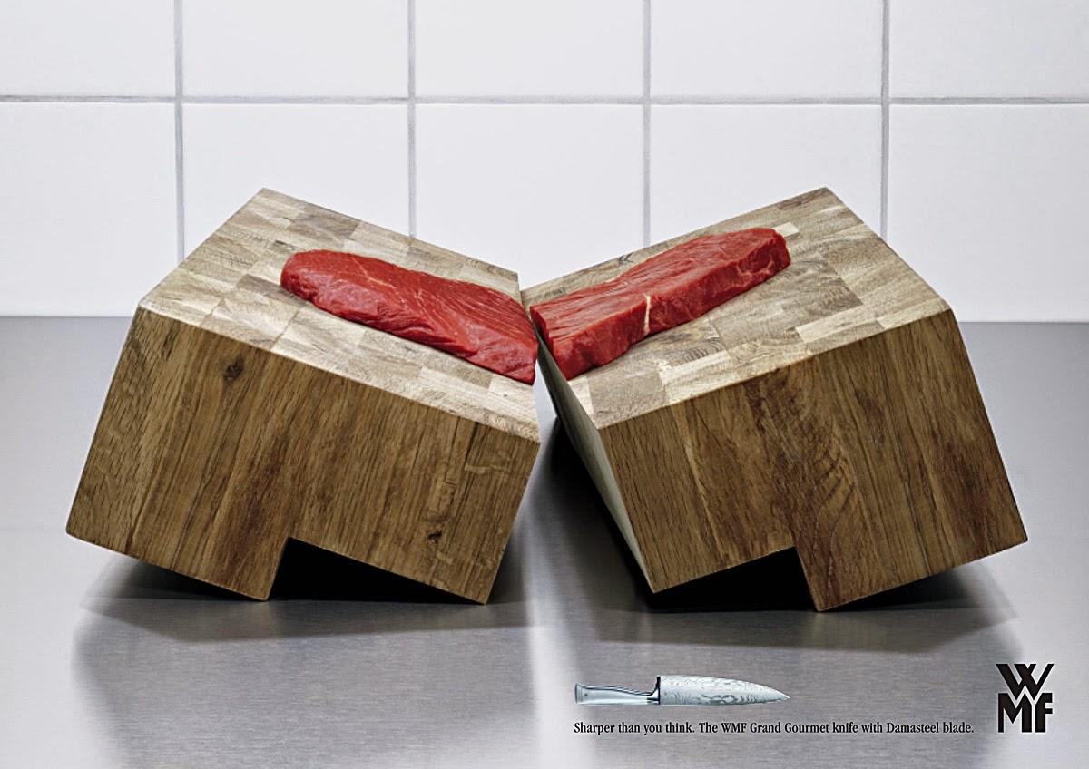 Pub pour le couteau Grand Gourmet WMF