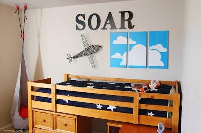 Dormir entre nubes - Tutorial DIY