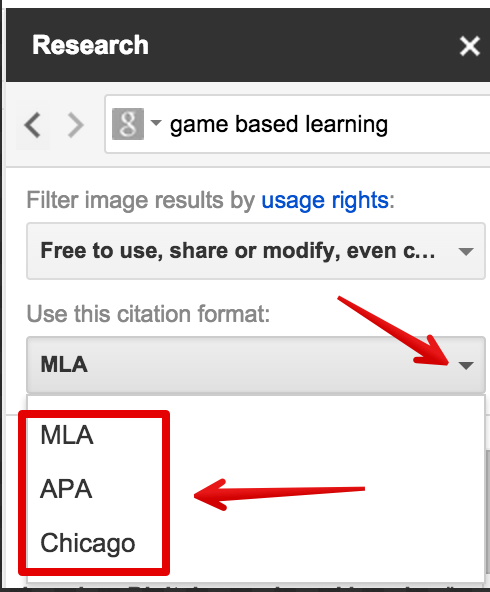 Here Is How to Easily Cite Papers in Different Formats in Google ...