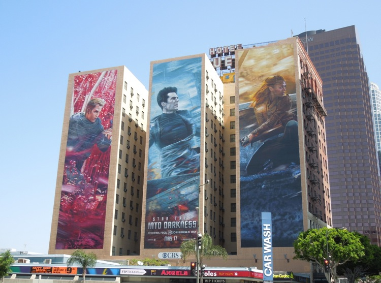 Giant Star Trek Into Darkness billboards