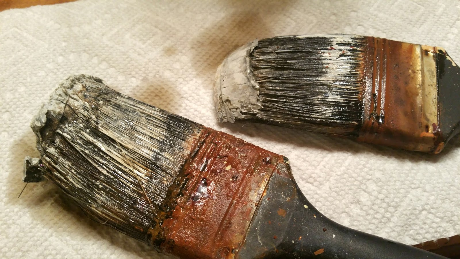 How To Get Dry Paint Out Paint Brushes