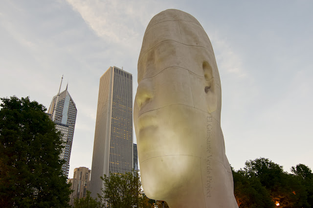 Awilda, Millenium Park Chicago - Plensa por El Guisante Verde Project