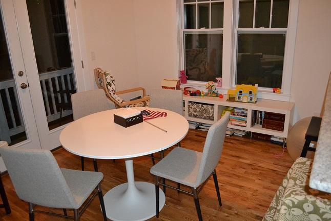Never Listless I Like To Paint It Paint It Dining Room  : 06newtableikeadockstatableprebenchairs from neverlistless.blogspot.com size 646 x 431 jpeg 96kB